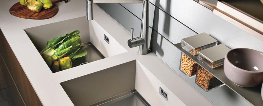 Encimera con fregadero integrado: la mejor decisión para tu cocina | Más  Cocina - Especialistas en proyectos de cocina y hogar